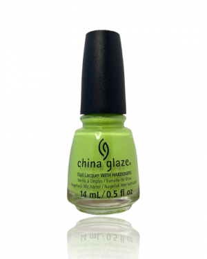 JenaesNails - China Glaze- Grass is Lime Greener