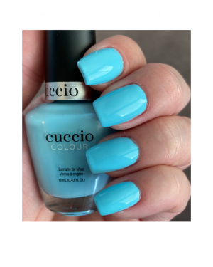 JenaesNails - Cuccio Color - Blueberry Sorbet - Nail Swatch