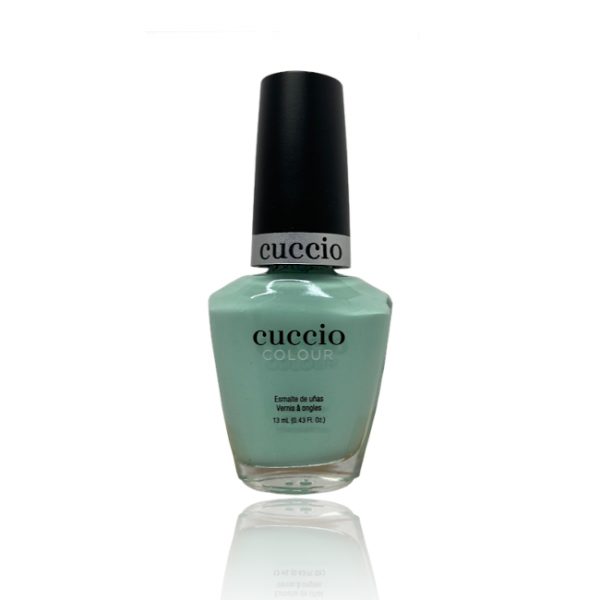JenaesNails - Cuccio Color- Mint Sorbet