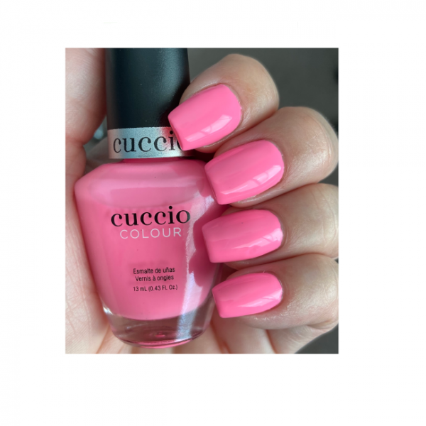 JenaesNails - Cuccio Colour - Punch Sorbet - Nail Swatch