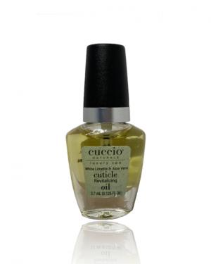 JenaesNails - Cuccio Cuticle Oil - White Limetta & Aloe Vera, 0.125 FL Oz
