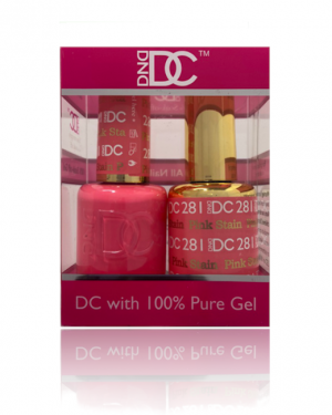 JenaesNails- DND- 281 Pink Stain