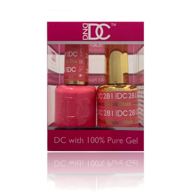 JenaesNails- DND- 281 Pink Stain
