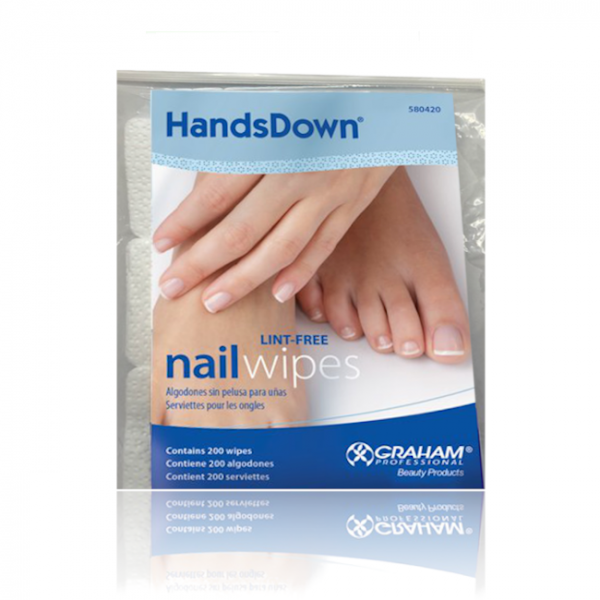 JenaesNails - Graham - Hands Down Lint-Free nail wipes