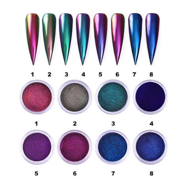 JenaesNails - Born Pretty – Aurora Nail Powder