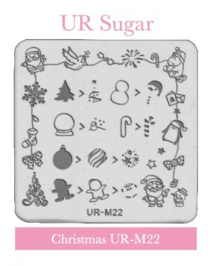 UR Sugar Christmas Plate – M22