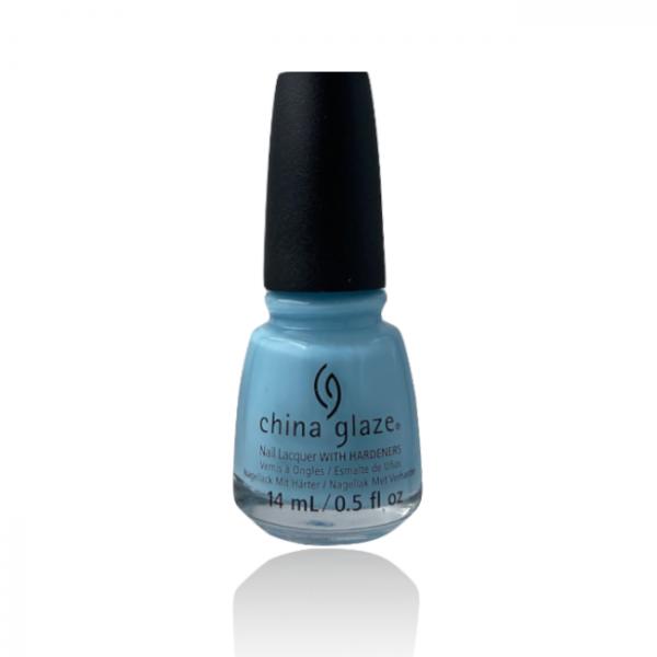 Jenaes Nails - China Glaze - Chalk Me Up!
