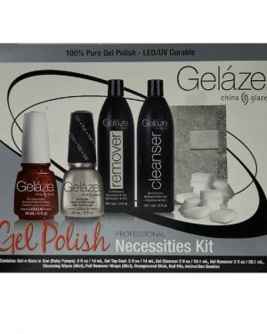 China Glaze Geláze - Gel Polish Necessities Kit