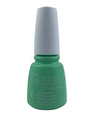 China Glaze Gelaze Gel Polish- Highlight of My Summer
